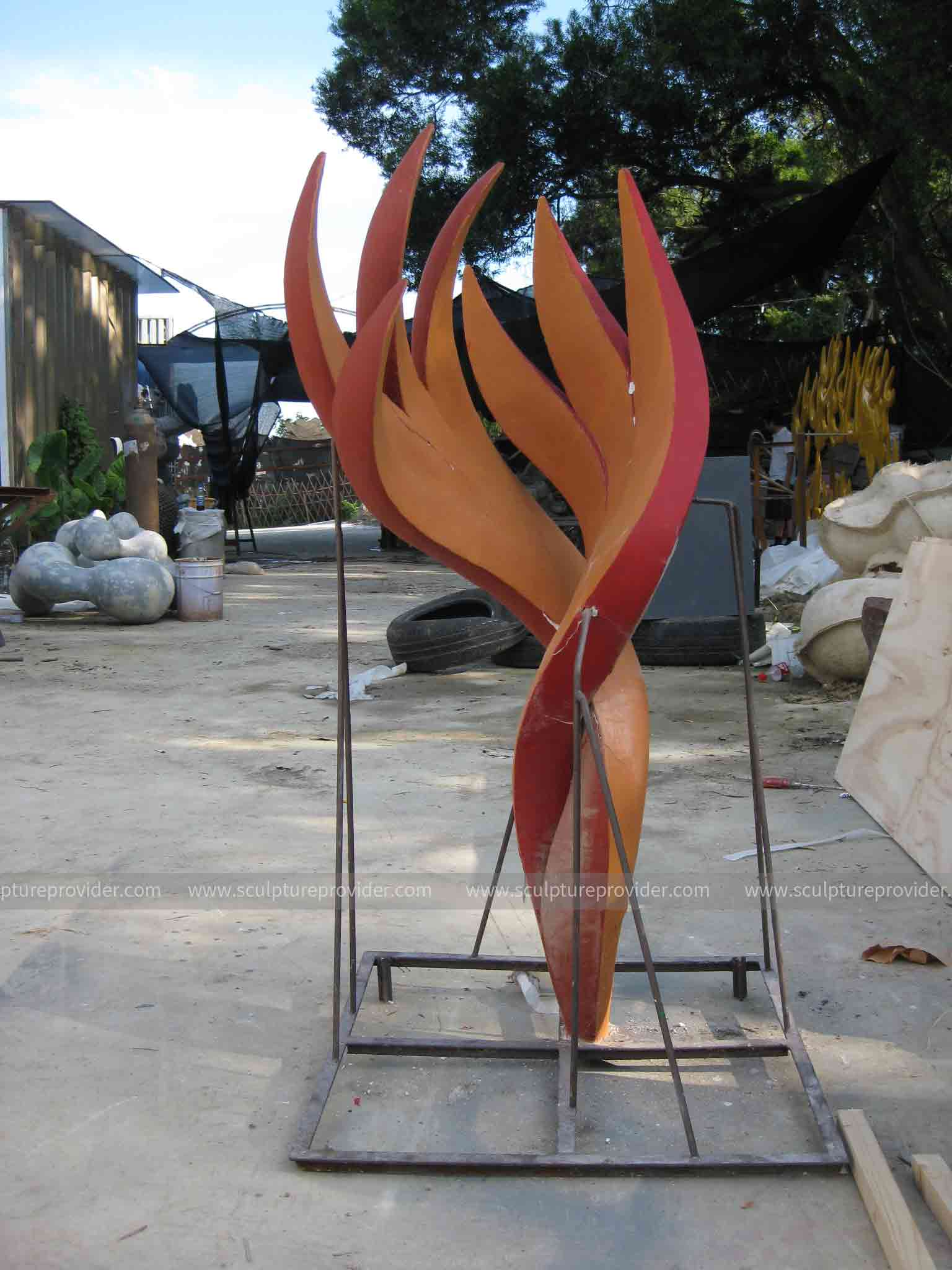 steel artwork